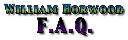 William Horwood FAQ